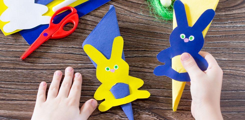 Fabuleux Lavoretti di Pasqua con cartoncino e materiale riciclato: 5 idee  LF63