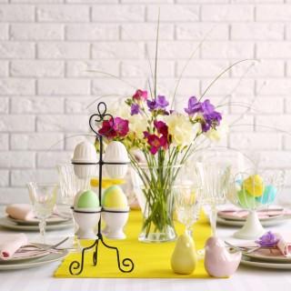 Addobbi di Pasqua per la tavola