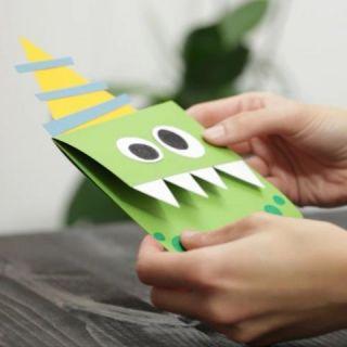 Il tutorial per fare il biglietto di compleanno per bambini