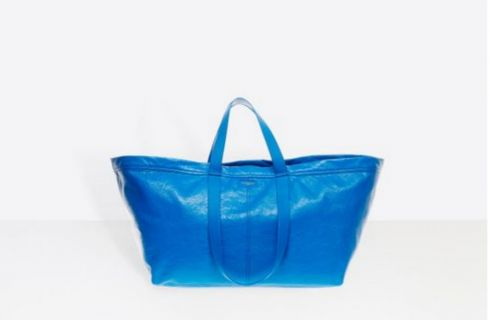 Balenciaga copia Ikea, ma la nuova borsa costa 1700 euro!