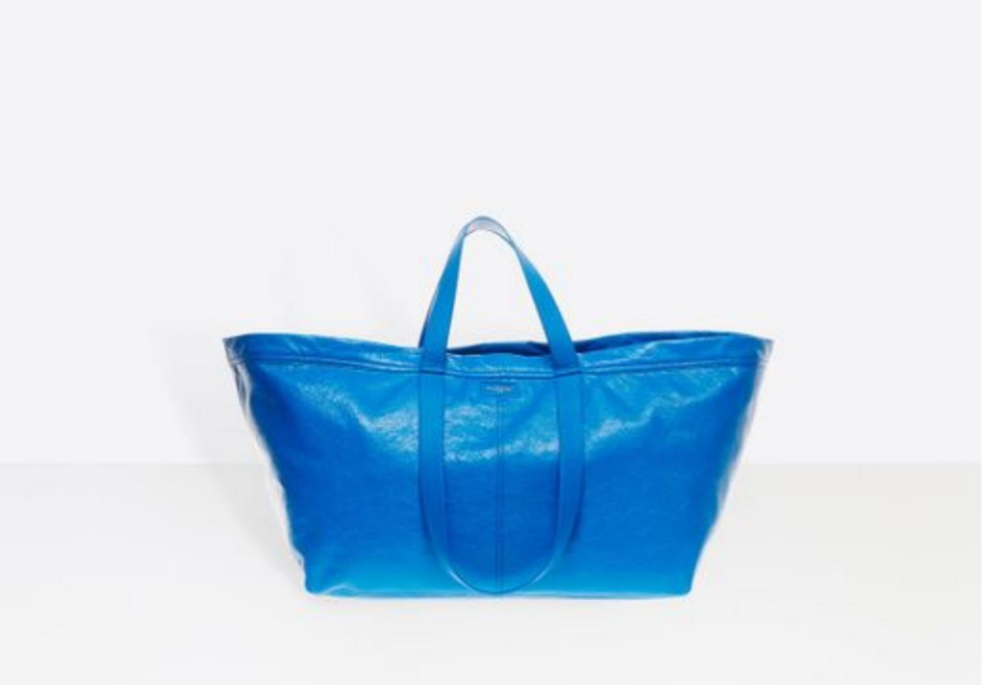 Balenciaga copia ikea ma la nuova borsa costa 1700 euro diredonna - Acquisto on line ikea ...