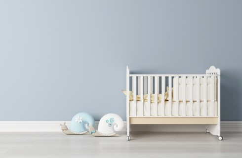 Come addormentare un neonato nel lettino