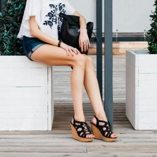 Le scarpe con zeppa più belle per la Primavera Estate 2017