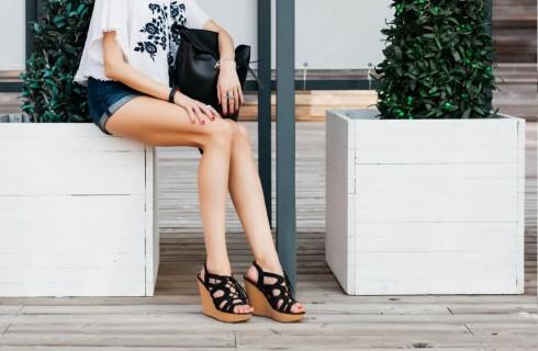 Scarpe Primavera Estate 2017: scarpe con zeppa
