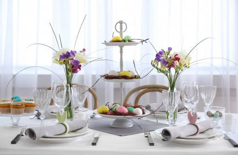 Addobbi di Pasqua per la tavola: decorazioni per Pasqua