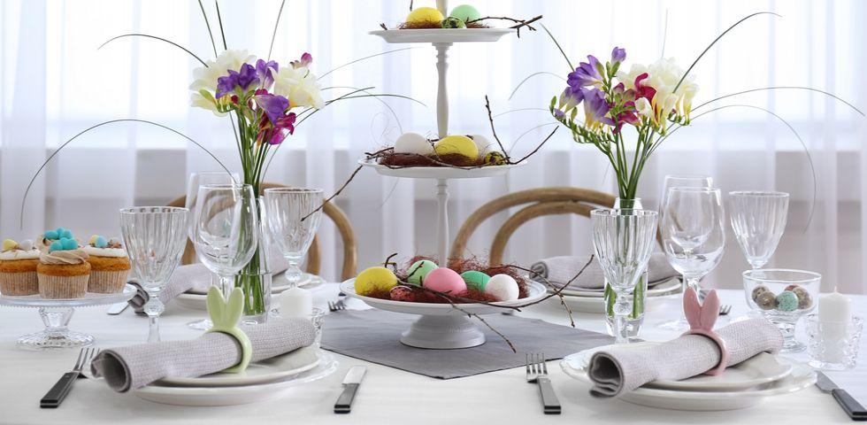 Addobbi di pasqua per la tavola decorazioni pasquali for Decorazioni cucina fai da te