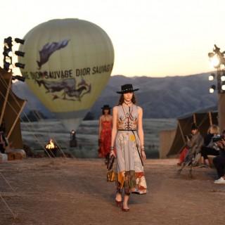 La Dior Cruise alla conquista del selvaggio west