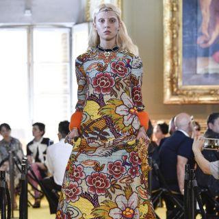 La collezione Gucci Cruise sfila a Palazzo Pitti