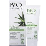 Maschera viso purificante con Argilla Verde di Phytorelax (9 euro circa)