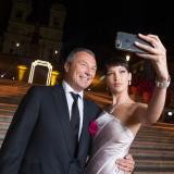 Bella Hadid e Jean-Christophe Babin Ceo di Bulgari
