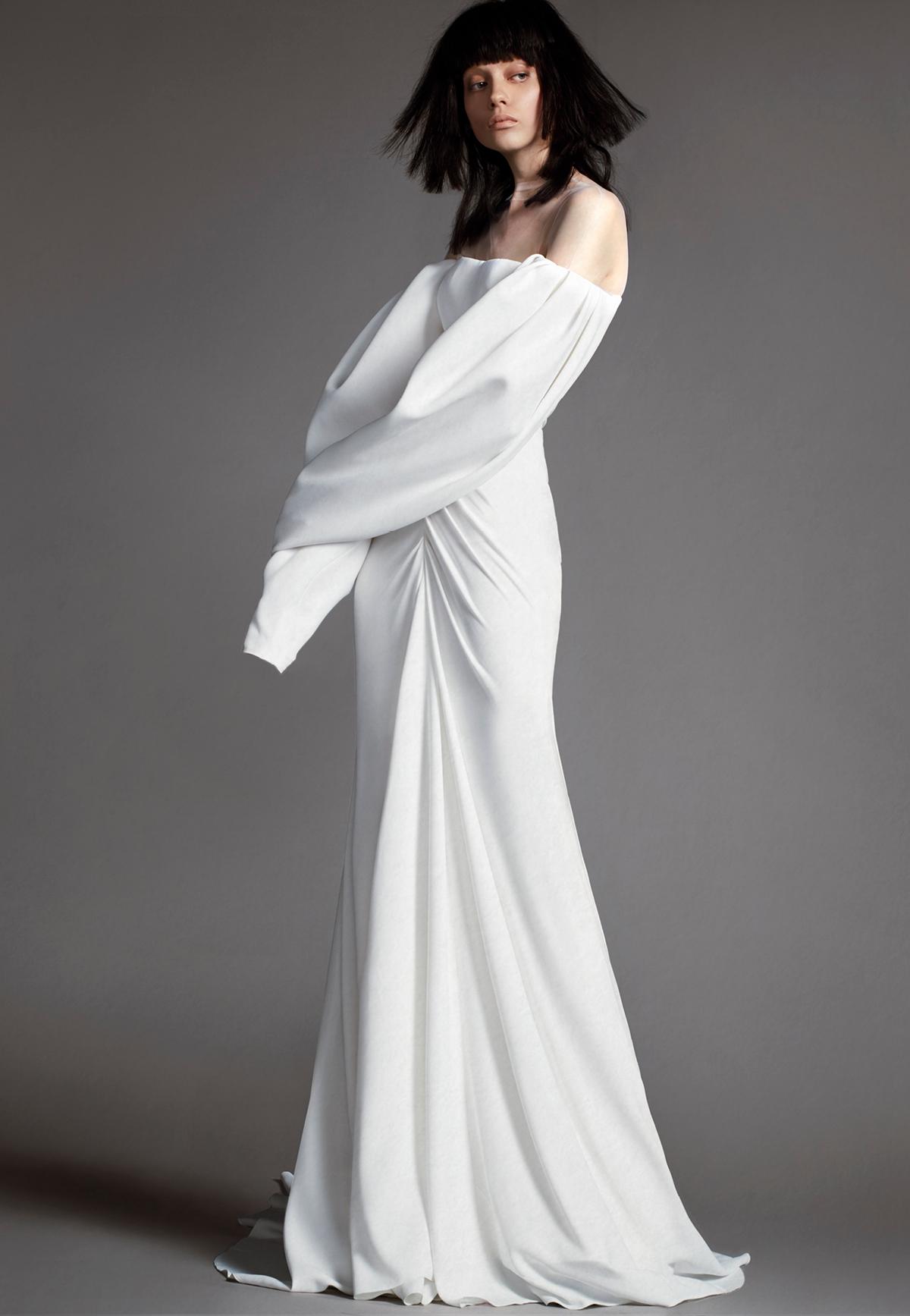 Vestiti da sposa 2018 a sirena, foto