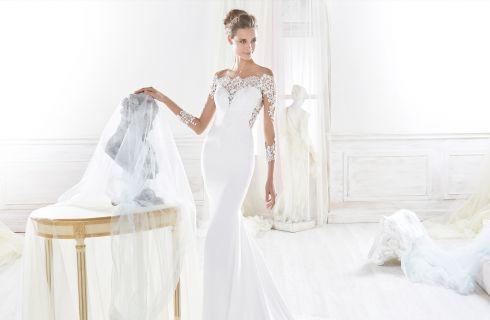 Vestiti da sposa 2018 a sirena