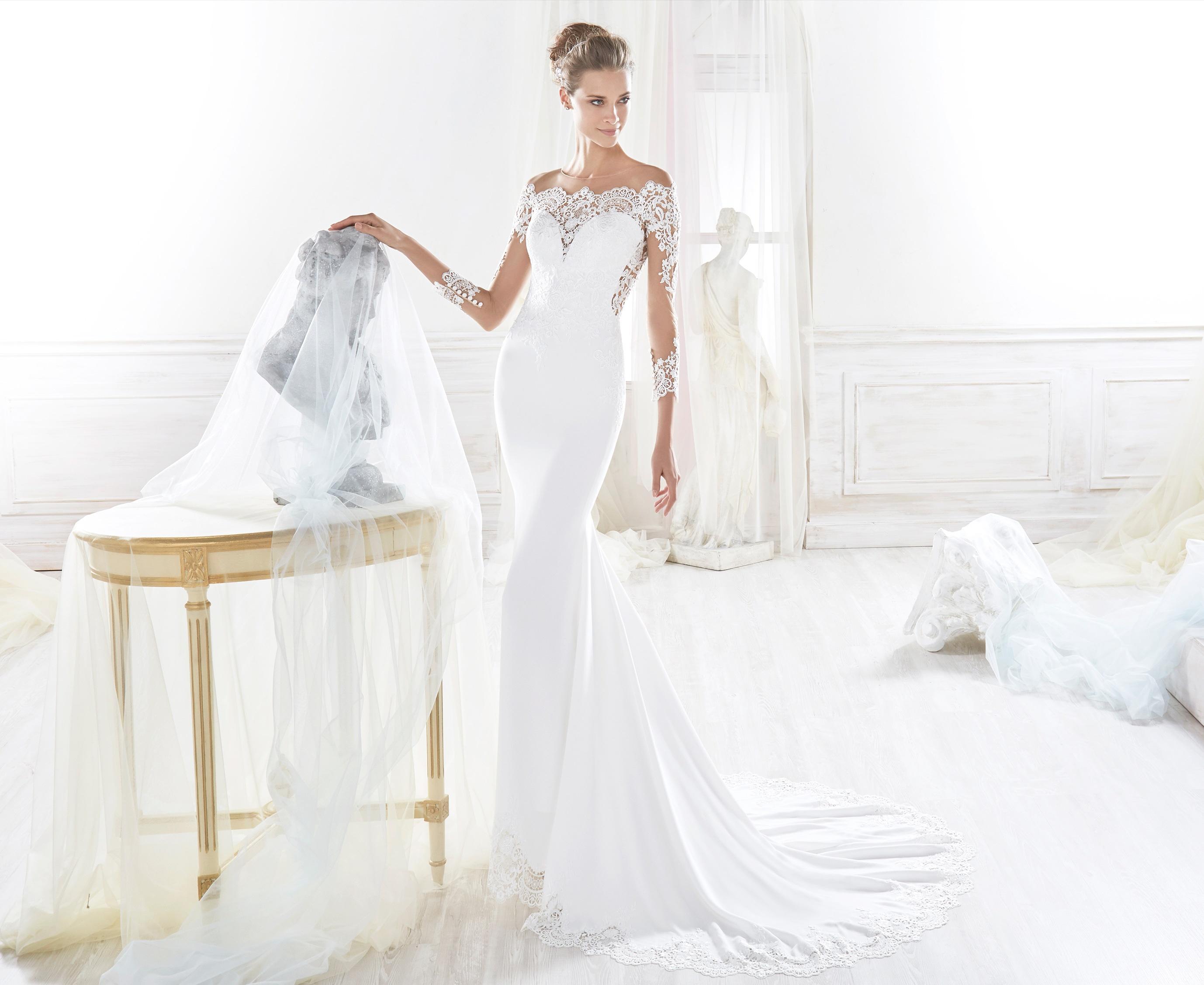 Vestiti Da Sposa 2018 A Sirena Diredonna