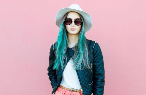 Colore capelli estate 2017:mermicorn, unicorno e sirena