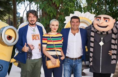 Cattivissimo me 3: incontro con le voci di Arisa, Max Giusti e Paolo Ruffini