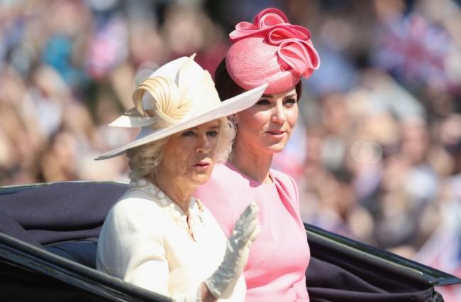 Trooping The Colour 2017: Camilla e Kate Middleton