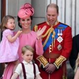 Trooping The Colour 2017: la famiglia reale
