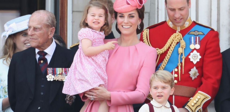 Kate Middleton: look coordinato per tutta la famiglia durante la Trooping the Colour (foto)