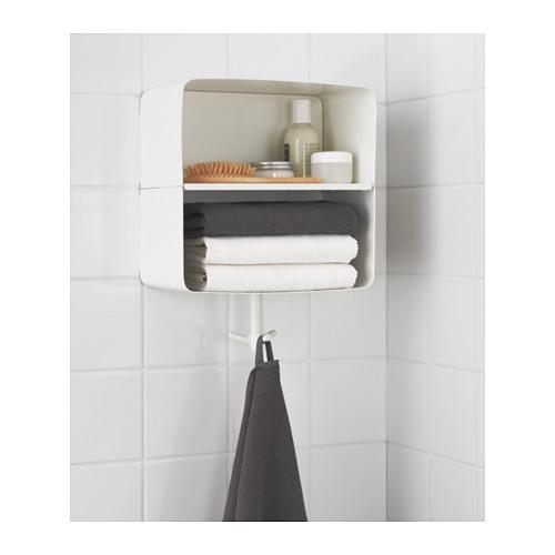 Ikea  BRICKAN Scaffale da parete, bianco € 27,99