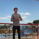 Tom Holland a Roma per presentare Spider Man Homecoming