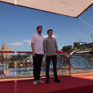 Spider Man Homecoming: Tom Holland e Jon Watts a Roma