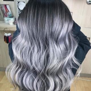 Capelli tendenza colore inverno 2018, charcoal, foto