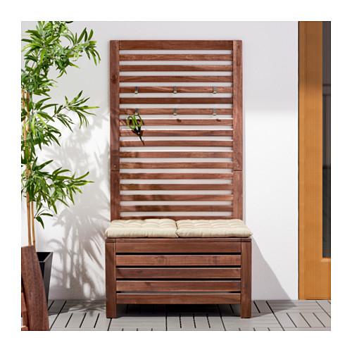 Come arredare il balcone piccolo 10 soluzioni ikea - Panca giardino ikea ...