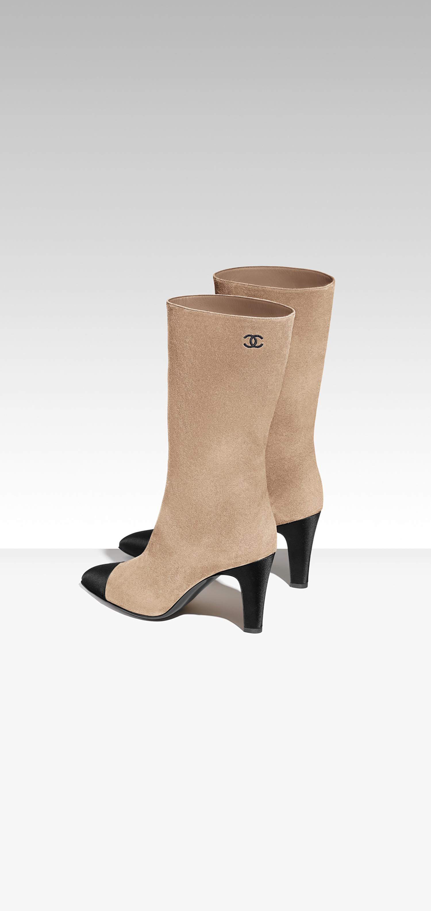 Chanel Boot, gli stivali must have della moda autunno inverno 2017-2018, le foto