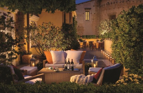 Hotel Capo d'Africa: aperitivo in Terrazza