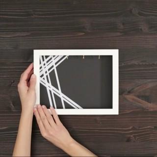Portachiavi da parete fai da te: il tutorial per realizzarlo