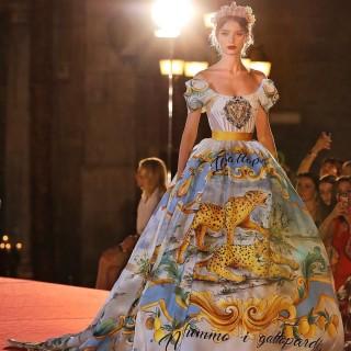 Dolce & Gabbana: sfila il loro inno alla Sicilia