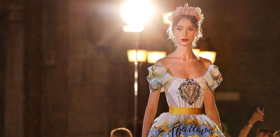 Dolce   Gabbana Alta Moda autunno inverno 2017-2018 - DireDonna e47b314ce18