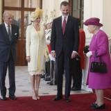 Letizia Ortiz e la regina Elisabetta II
