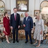 Letizia Ortiz, Felipe VI, il principe Carlo e Camilla