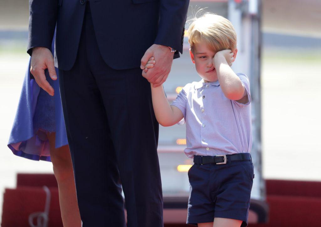 Kate Middleton e il principe William con George e Charlotte a Berlino, foto