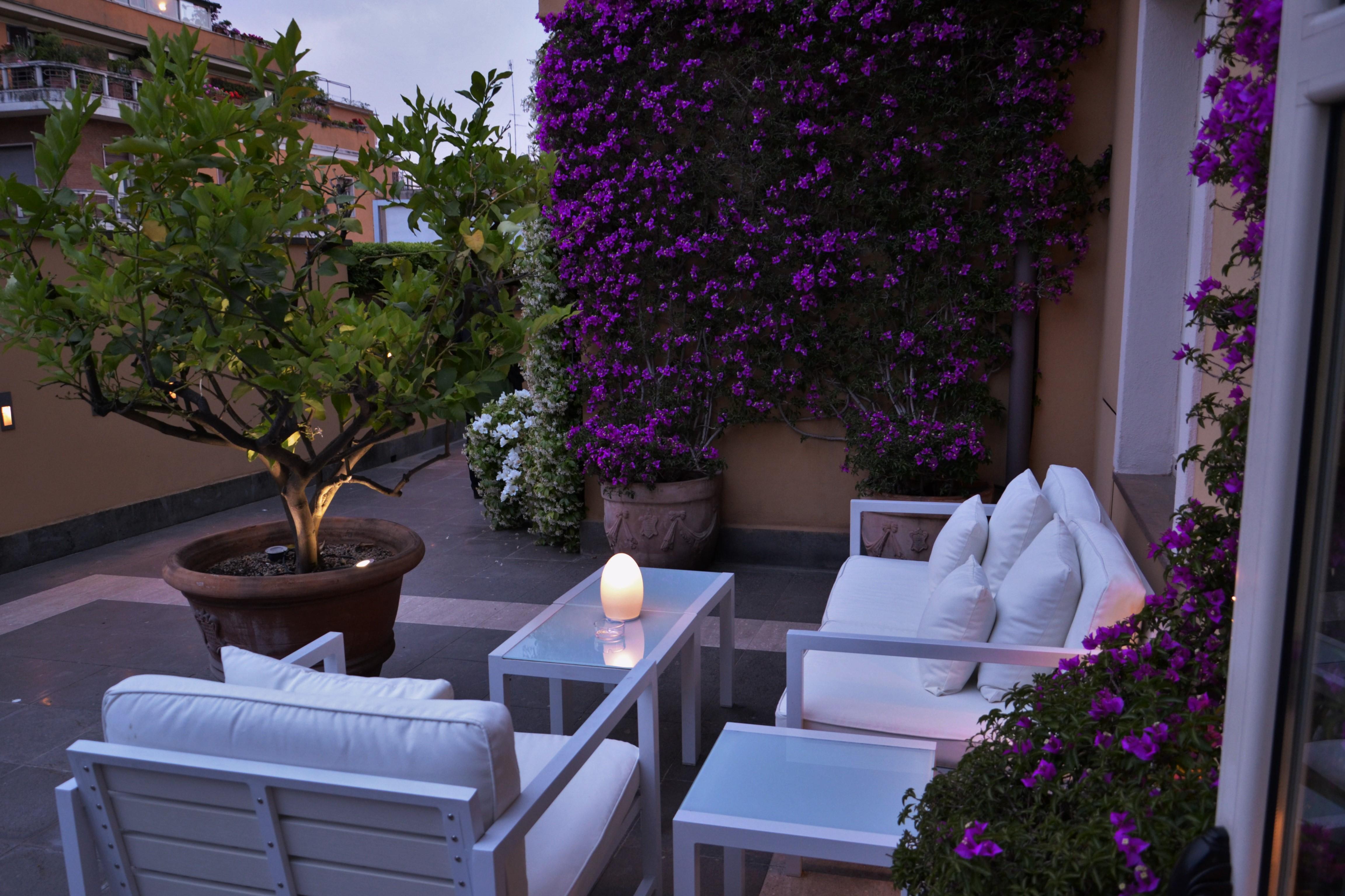 Le foto della Terrazza dell'Hotel Capo d'Africa