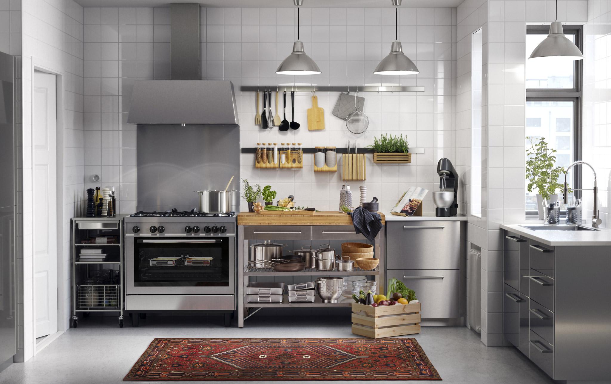 Binario Pensili Cucina Ikea ikea cucina: soluzioni creative e funzionali | diredonna