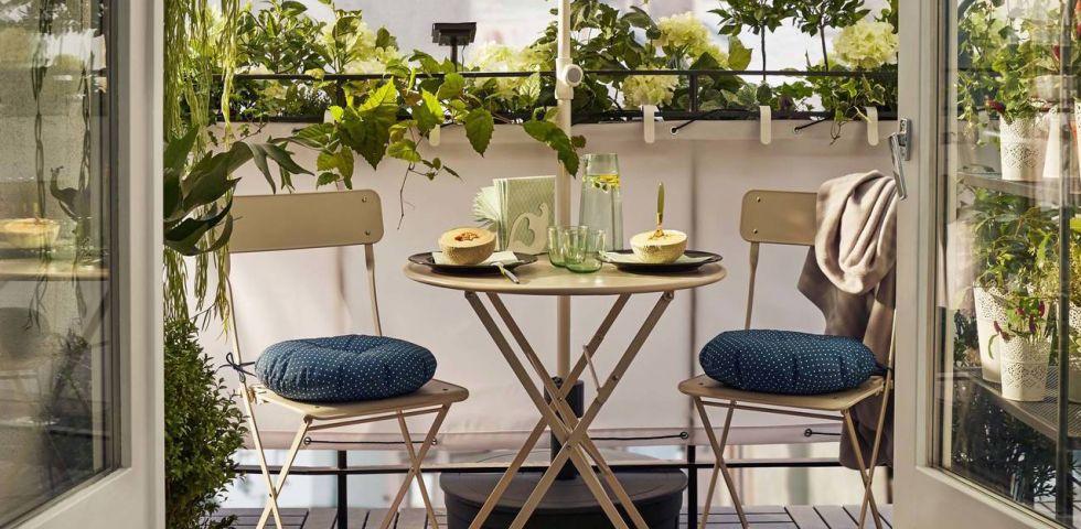 Come arredare il balcone piccolo 10 soluzioni ikea for Soluzioni economiche per arredare casa