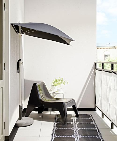 Come arredare il balcone piccolo 10 soluzioni ikea for Divanetto da balcone