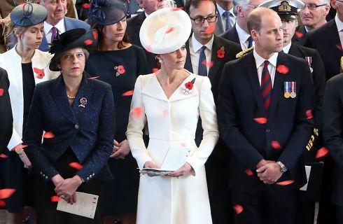 Kate Middleton in Belgio ricicla il vestito del battesimo della Principessa Charlotte