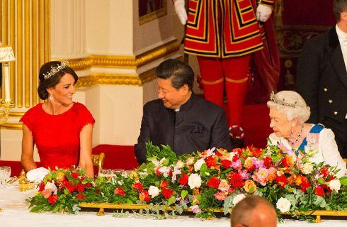 Kate Middleton e Letizia Ortiz insieme al banchetto di stato a Buckingham Palace?