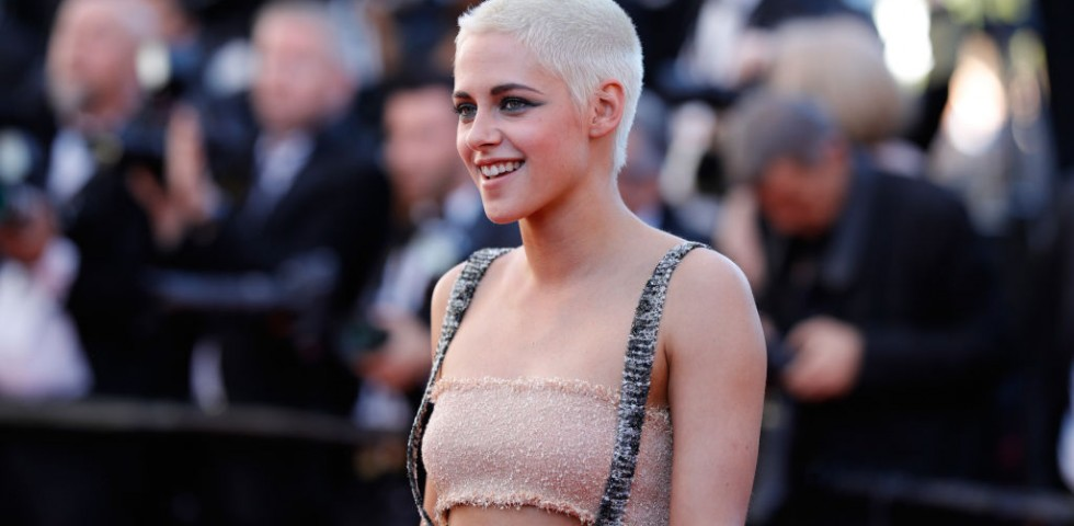 Kristen Stewart, protagonista del reboot di Charlie's Angels insieme a Lupita Nyong'o