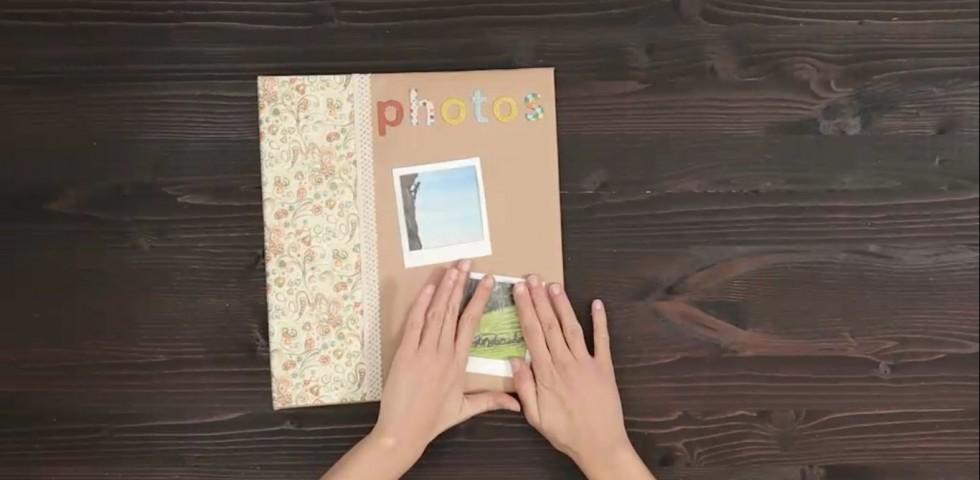 Eccezionale Copertina album fotografico fai da te | DireDonna AD92