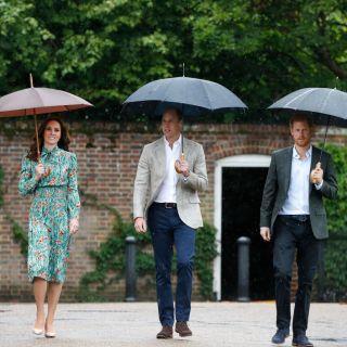 Kate Middleton: omaggio a Lady Diana con William e Harry