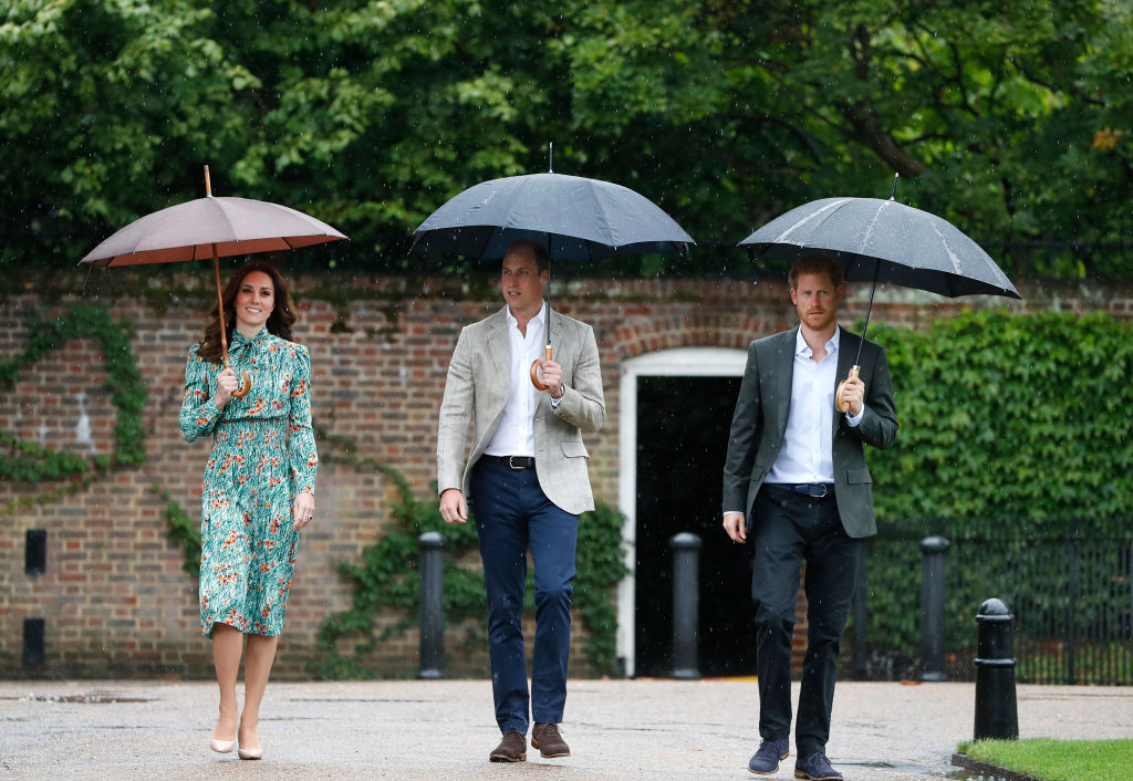 Kate Middleton: omaggio a Lady Diana con William e Harry