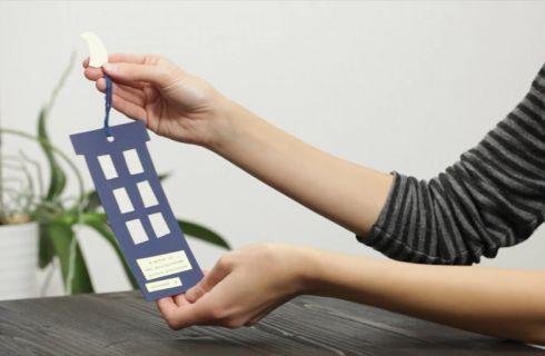 Segnalibro fai da te di carta: il tutorial