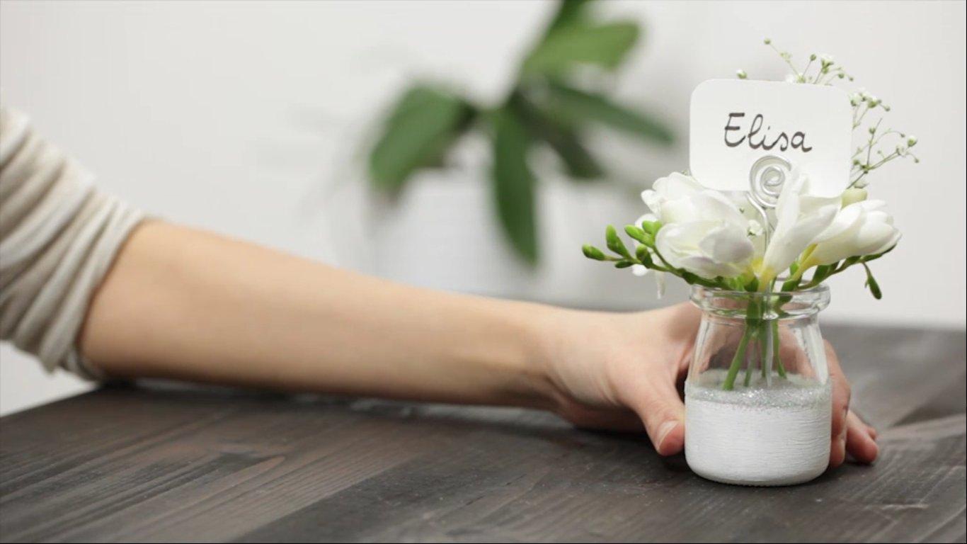 Top Segnaposto matrimonio fai da te, tutorial | DireDonna FF56