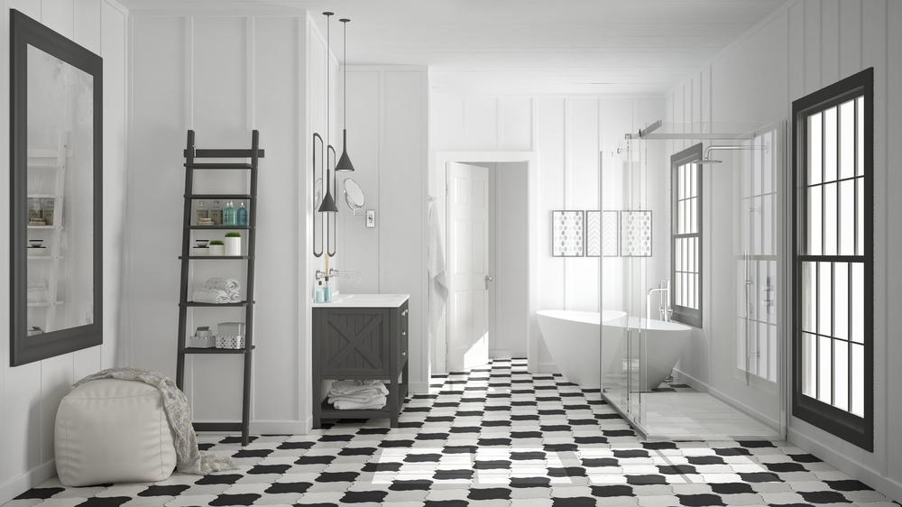 Come scegliere le piastrelle per il bagno diredonna - Come rivestire piastrelle bagno ...