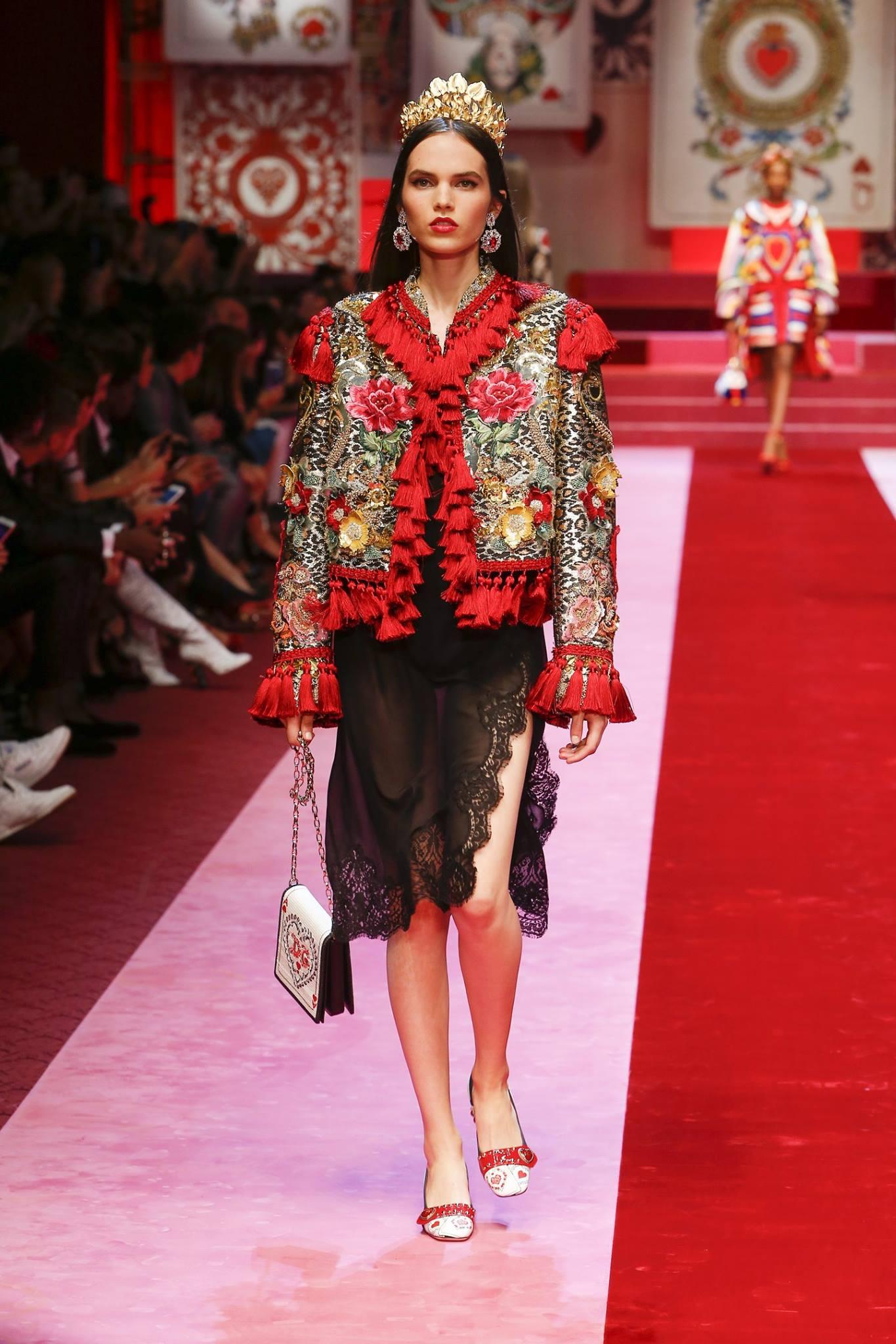 Dolce & Gabbana primavera estate 2018, foto
