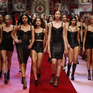 Cuori, fiori e regine: ecco il mondo di Dolce & Gabbana